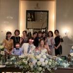 青木さん結婚式.ハート
