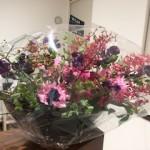 小田嶋さんからお花